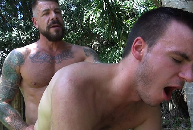 Rocco Steele and Aaron Slate