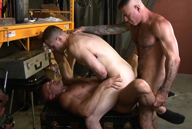 Chad Brock, Nick Moretti and Blue Bailey